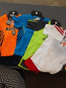 Boys Adidas soccer sets $8.99